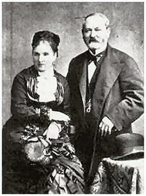 House of Fabergé - Gustav Fabergé and his wife Charlotte Jungstedt