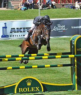 Guy Thomas New Zealand equestrian