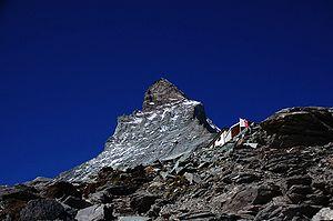 Hörnli Hut - Below the Hörnli ridge of the Matterhorn