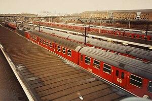 Høje Taastrup station - Høje Taastrup Station in 1994