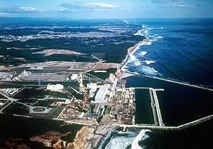 Fukushima Daiichi Nuclear Power Plant - Plant still under construction circa 1971