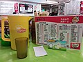 HK 觀塘 Kwun Tong Tsun Yip Street 家樂快餐 Ka Lok Restaurant tablewares cup n food menu Lunch November 2018 SSG 11.jpg