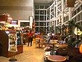 HK Kln Tong Tat Chee Avenue night 創新中心 InnoCentre Pacific Coffee interior Jan-2009 visitors.JPG