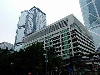 美利道多層停車場位處於中銀大廈對面,鄰近中環港鐵站,有很高的潛在發展價值。 (圖片:Chong Fat@Wikimedia)