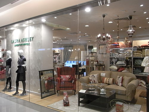 Laura Ashley Shop, Hong Kong HK TST K11 mall 20 shop Laura Ashley clothing.JPG