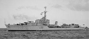 HMAS Arunta (I30) - HMAS Arunta during World War II