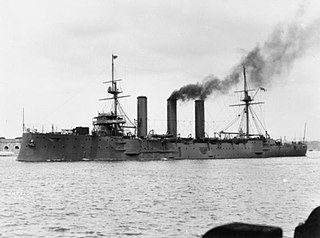 Monmouth-class armoured cruiser finished in 1903