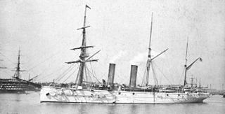 HMS <i>Mercury</i> (1878) Iris-class second class cruiser of the Royal Navy launched in 1878