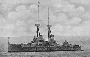 Herbert Annesley Packer - HMS St Vincent at the Coronation Review off Spithead in 1911