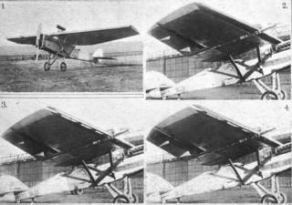 Handley Page H.P.20 experimental monoplane
