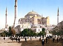 Haiga Sophia in modern day Istanbul, Turkey (Constantinople)