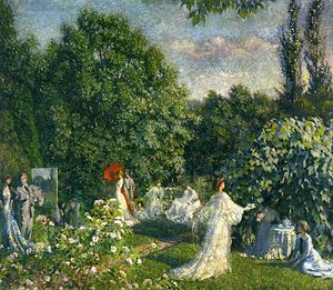 Philip Leslie Hale - Image: Hale Garden party