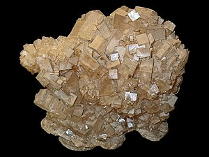 English: Halite, Rock salt, Sodium chloride, N...