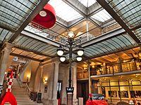 Hall d'entrée du center belge de la bande dessinée.jpg