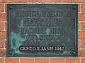 Hamburg-Tonndorf Friedhof Mausoleum Kock Tafel Heinrich Hans und Malwine.jpg