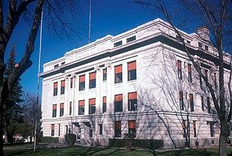 Hayti, South Dakota - The Hamlin County Courthouse in Hayti in 1974
