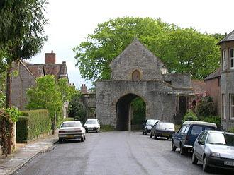 Langport - The Hanging Chapel