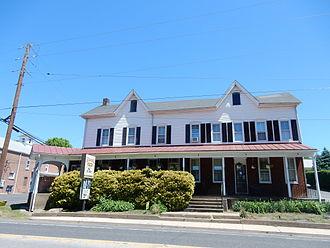 Palm, Pennsylvania - Palm. Hanna's Hanover Inn.