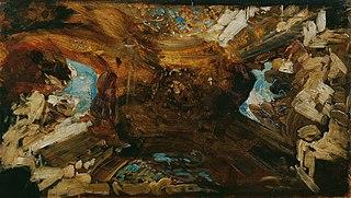 Farbskizze zum Plafond \