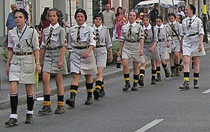Scouting Association of the Republic (Poland) - Girl Scouts from the ZHR