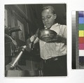 Harlem Community Art Center- student in metal craft class, 290 Lenox Avenue, Manhattan, Manhattan (NYPL b13668355-482614).tiff