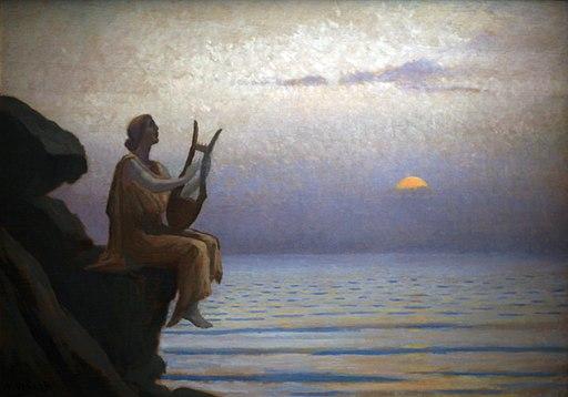 Harmonie du soir sur la mer-Alphonse Osbert-MG 8228