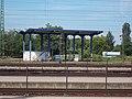 Hatvan railway station, locomotive check station, 2017 Hatvan.jpg