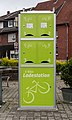 Hausdülmen, E-Bike-Ladestation am Dorfplatz -- 2014 -- 0131.jpg