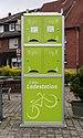 Hausdülmen, E-Bike-Ladestation am Dorfplatz -- 2014 -- 0131.jpg
