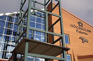 Dalarna University College - Image: Hdfalunfront 11 web