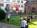 Heidelberg Marstall Mensa Innenhof Fußballweltmeisterschaft 2014 IMG 1845.jpg
