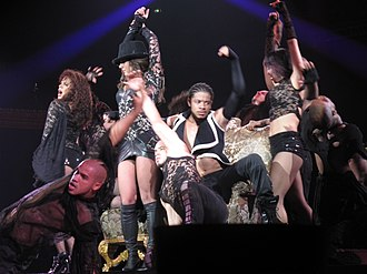 Blackout (Britney Spears album) - Image: Helsinki Britney 210 Wikipedia