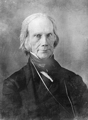 1848 Whig National Convention - Image: Henry Clay 3c 09953u restored