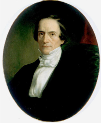 Henry Wheaton - Portrait of Henry Wheaton by George Peter Alexander Healy, ca. 1847