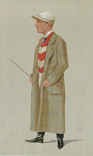 Mornington Cannon - 1891 Vanity Fair caricature by Leslie Ward.