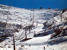 Hermon Ski resort (operating only during the winter)