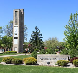 Adrian College - Herrick Tower