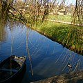 Hever Castle boat by the canal.jpg