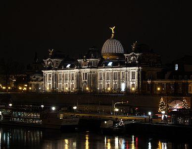 Dresden Academy of Fine Arts, located on the Brühl's Terrace