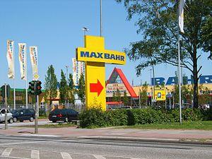 Deutsch: Hamburg, Bramfeld, Baumarkt Max Bahr.