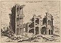 Hieronymus Cock, The Septizonium and the Colosseum, probably 1550, NGA 91345.jpg