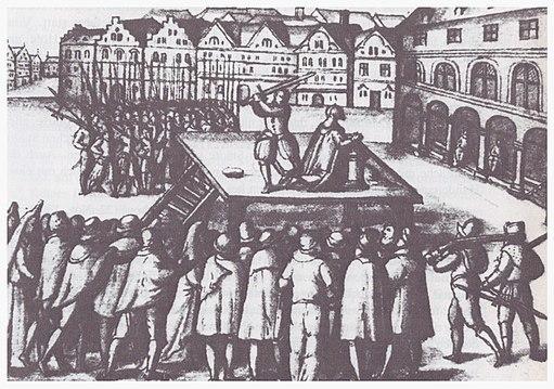 Hinrichtung BM Johann Wittenborg HL 1363