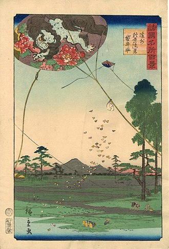 Hiroshige II - Image: Hiroshige II Enshū Akiha