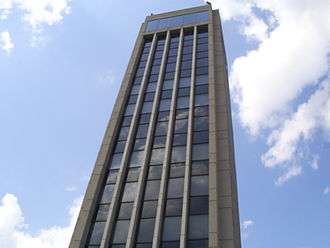 KFVS-TV - Hirsch Tower is the home of KFVS and WQTV/WQWQ.