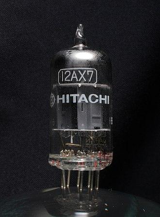 12AX7 - Image: Hitachi 12AX7