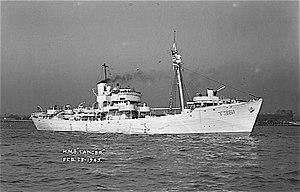 Naval trawler - Second World War naval trawler, HMT Lancer