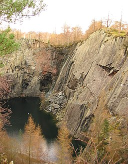 Hodge Close quarry, view north east - geograph.org.uk - 355193
