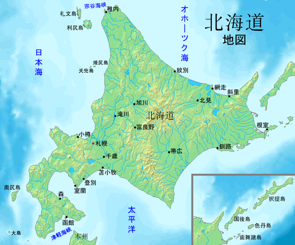 ... 地理/日本の諸地域 北海道地方 : 関東地方白地図フリー : 白地図