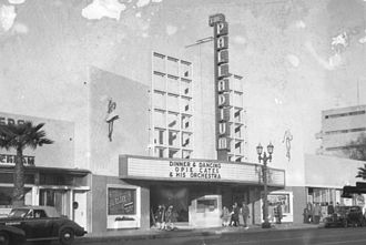 Hollywood Palladium - Bandleader Opie Cates was on the bill in 1947.