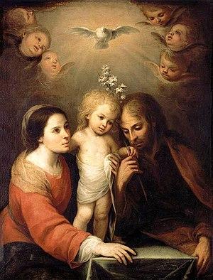 Holy Family - Holy Family, by Juan Simón Gutiérrez